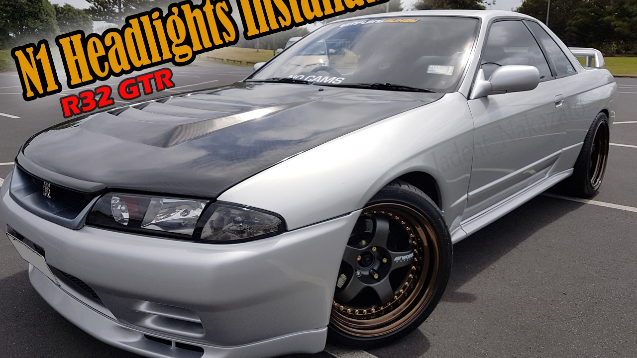 R32 GTR N1 Headlight Installation