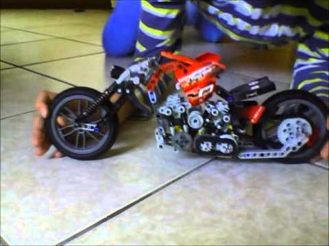 moto rossa lego technic youtube. Black Bedroom Furniture Sets. Home Design Ideas
