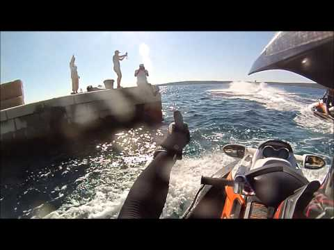 Jet Ski - from Dubrovnik to Tribunj 2 days trip