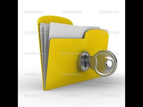 Как запаролить папку средствами Windows и с помощью архиватора