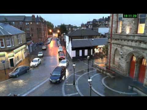Justin tv   near Glasgow   Scotland   UK   Bike ma