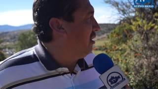 OAXACA NUEVO SIGLO TV INICIA OBRA DRENAJE PRIMERA DE CONSTITUCION Y PIRULES COL EMILIANO ZAPATA NOCH