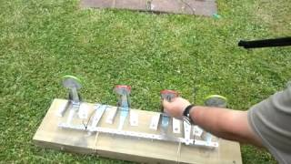 backyard resetting target for bb gun