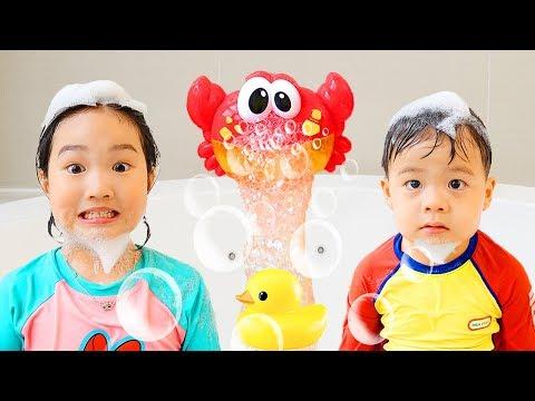 보람이와 건우의 신나는 목욕놀이 AYO KITA MANDI Lagu Anak Lagu –Lagu yang Manis Untuk Bayi