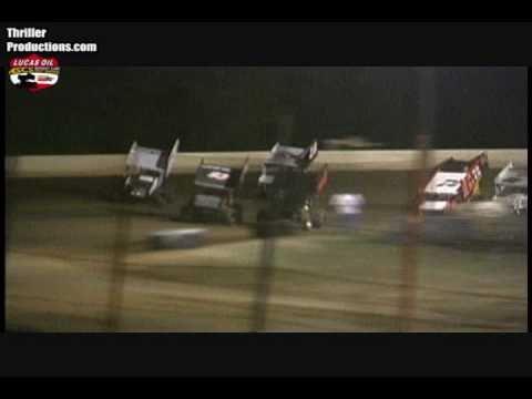 ASCS Sooner Region at Thunderbird Speedway Highlights 11-6-10