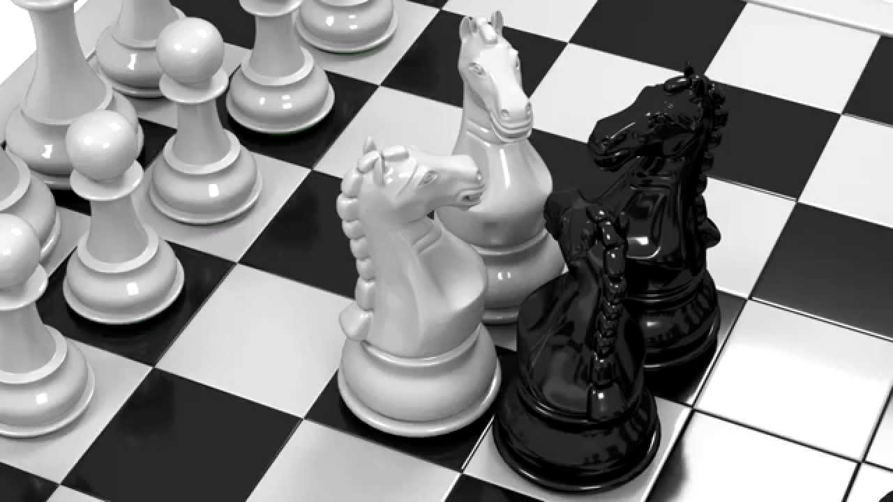 Chess Black And White