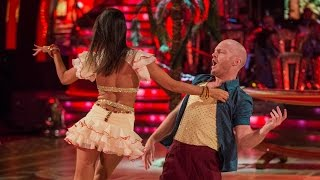 Jake Wood & Janette Manrara Salsa to 'Mambo No5' - Strictly Come Dancing: 2014 - BBC One