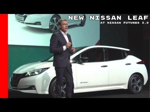 2018 Nissan Leaf Unveiling At Nissan Futures 3.0