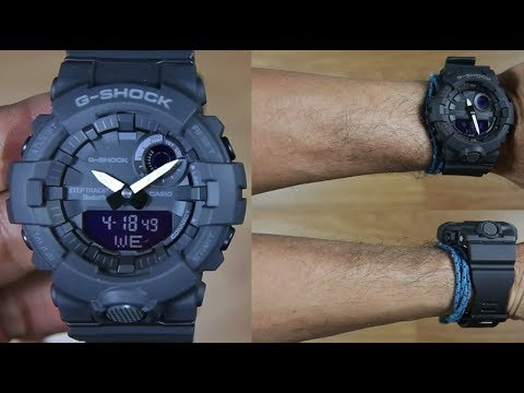 c4d6ea74c187 Casio G-Shock G-SQUAD GBA-800-1A STEP TRACKER - UNBOXING - YouTube