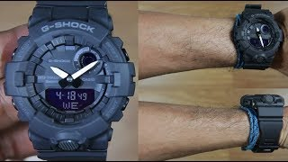 Casio G-Shock G-SQUAD GBA-800-1A STEP TRACKER - UNBOXING
