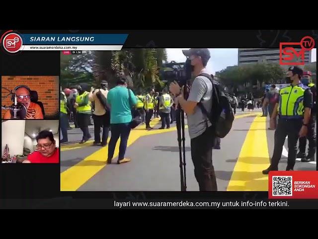 [LANGSUNG] Demonstrasi Ahli Parlimen Pembangkang membantah penutupan Parlimen