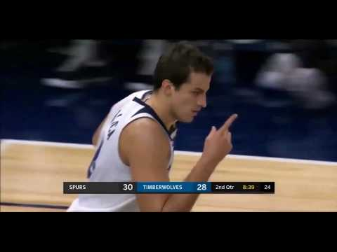 Nemanja Bjelica vs Spurs Full Highlights 11PTS 4REB 2AST 1BLK November 15