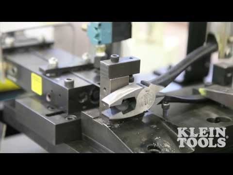 Klein side cutting pliers at Home Depot