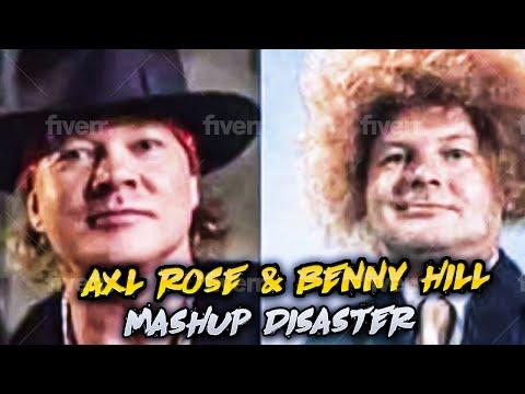 Martha Quinn - Guns N' Roses & Benny Hill Show Mashup