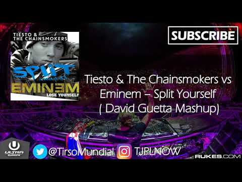 Lose Yourself vs Split (David Guetta Mashup)