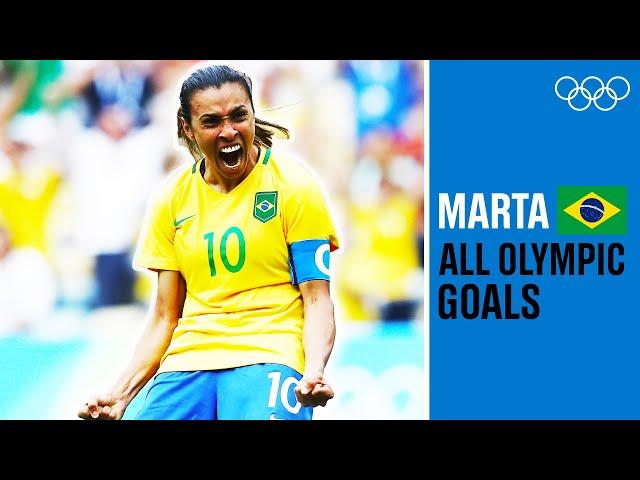 Marta - The Greatest Female Footballer Of All-Time?