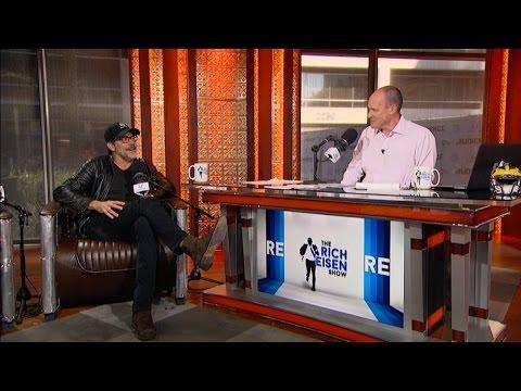 "Jeffrey Dean Morgan, ""Negan"" of ""The Walking Dead"" Joins The Rich Eisen Show in Studio - 10/25/16"