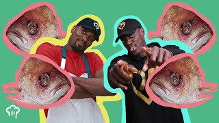 Serge Ibaka Cooks Pascal Siakam Fish Eyes | How Hungry Are You?