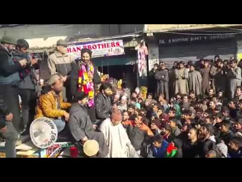 Chairman JKLF Yasin Malik speech in Kashmir