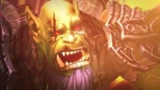 World of Warcraft. Legion. Цитадель Ночи [Nighthold]. Гулдан (нормал, ршам)