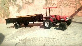 Arjun, Sonalika and Ford model tractor working on the farm