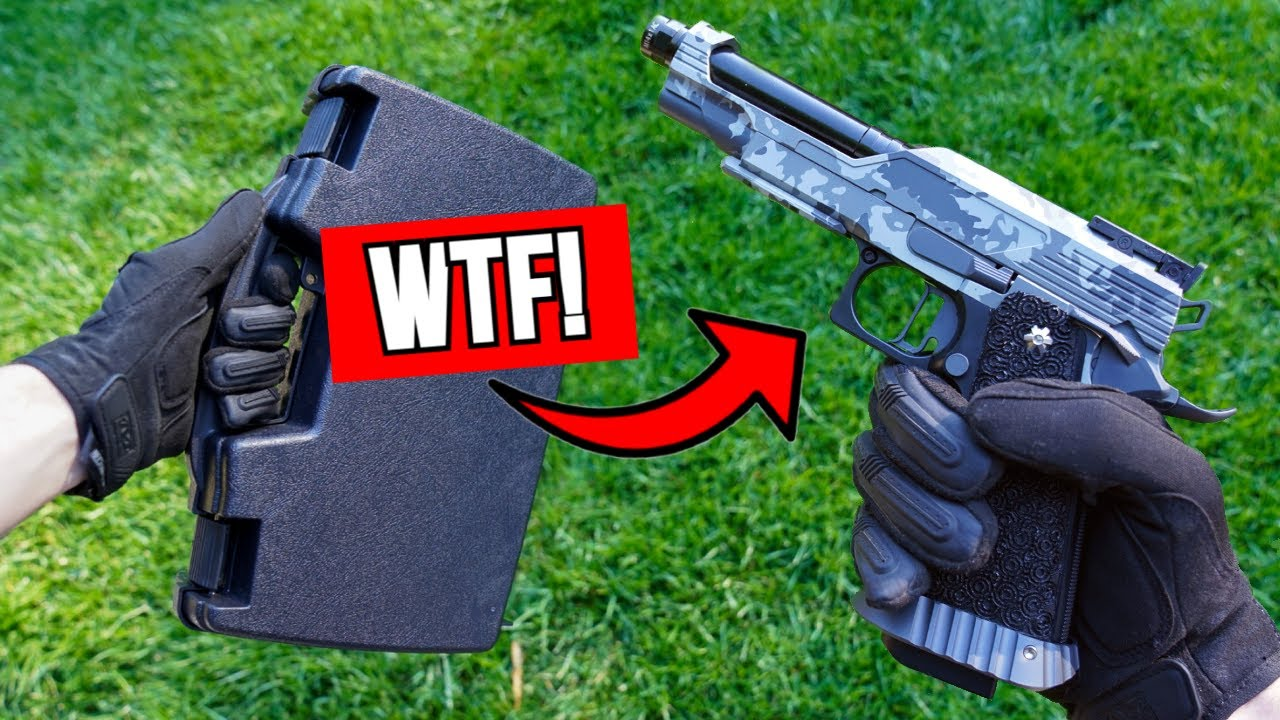 I Spent $1,000 on a Airsoft Pistol! *Unboxing/Shooting Test*