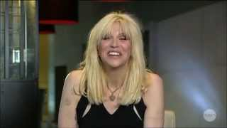 "Courtney Love ""Latest Addiction"" LIVE Australian Tv Interview August 13, 2014"