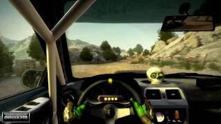 Dirt 2 Rally - G25 - No HUD - Gameplay (PC HD)