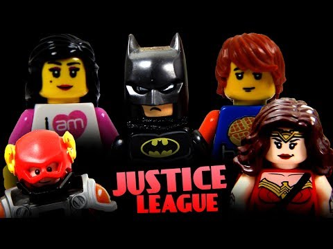 New Justice League Heroes! (Batman and Wonder Woman Take Over!) || Brick & Betty