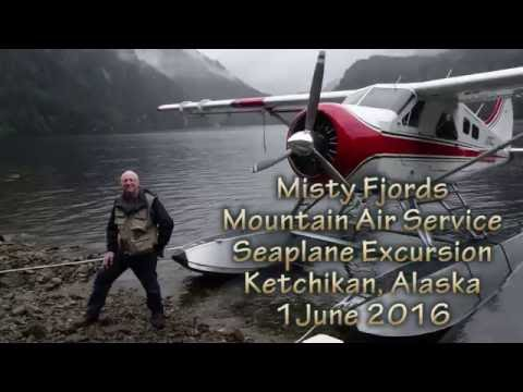 Misty Fjords Seaplane Flight, Ketchikan, Alaska, 6/1/2016