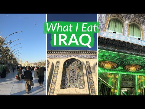 Iraq Vlog | Family Gatherings, Pomegranate Curries and Shrines | What I Eat #49
