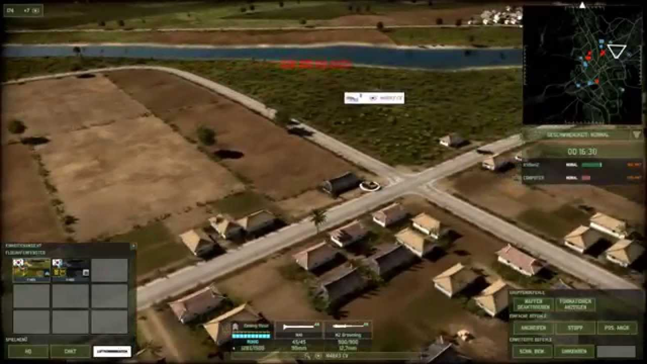 Lets Play Wargame Red Dragon Busan Kessel Teil 1 - YouTube