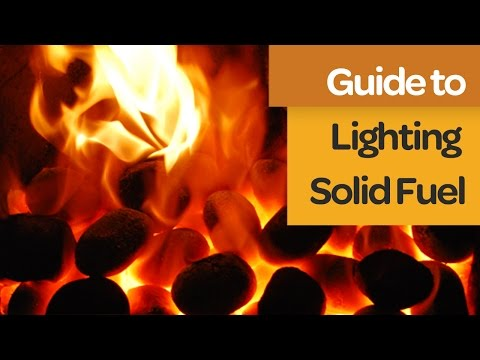 How to Light Your Solid Fuel | A Quick Step by Step Guide | House Fuel
