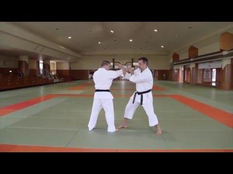 Karate KCRD - hand drills Rudy Duquet at Budokan