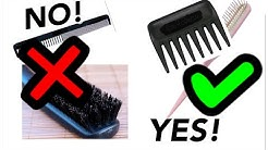 HOW TO comb and brush SYNTHETIC WIGS | Are you DOING IT RIGHT? | TOOLS and METHODS | TAZS Wig Tips!