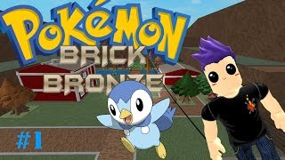 Piplup is so Cute! | Roblox Pokemon Brick Bronze #1