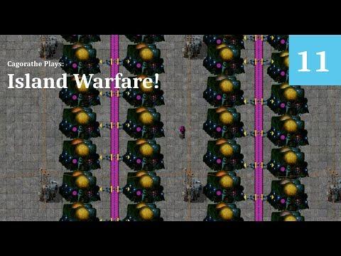 Mod Factorio - Island Warfare! - 11 - Establishing Control