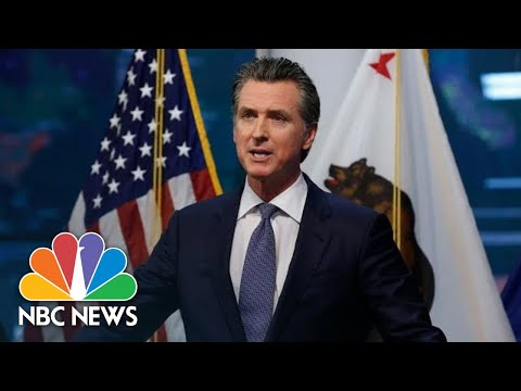 Watch live: CA Gov. Newsom gives coronavirus update| NBC News (Live Stream)