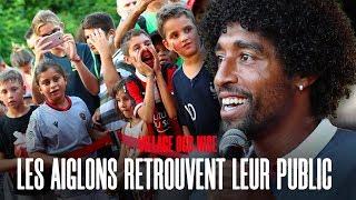 Les encouragements des supporters avant Nice - Amiens