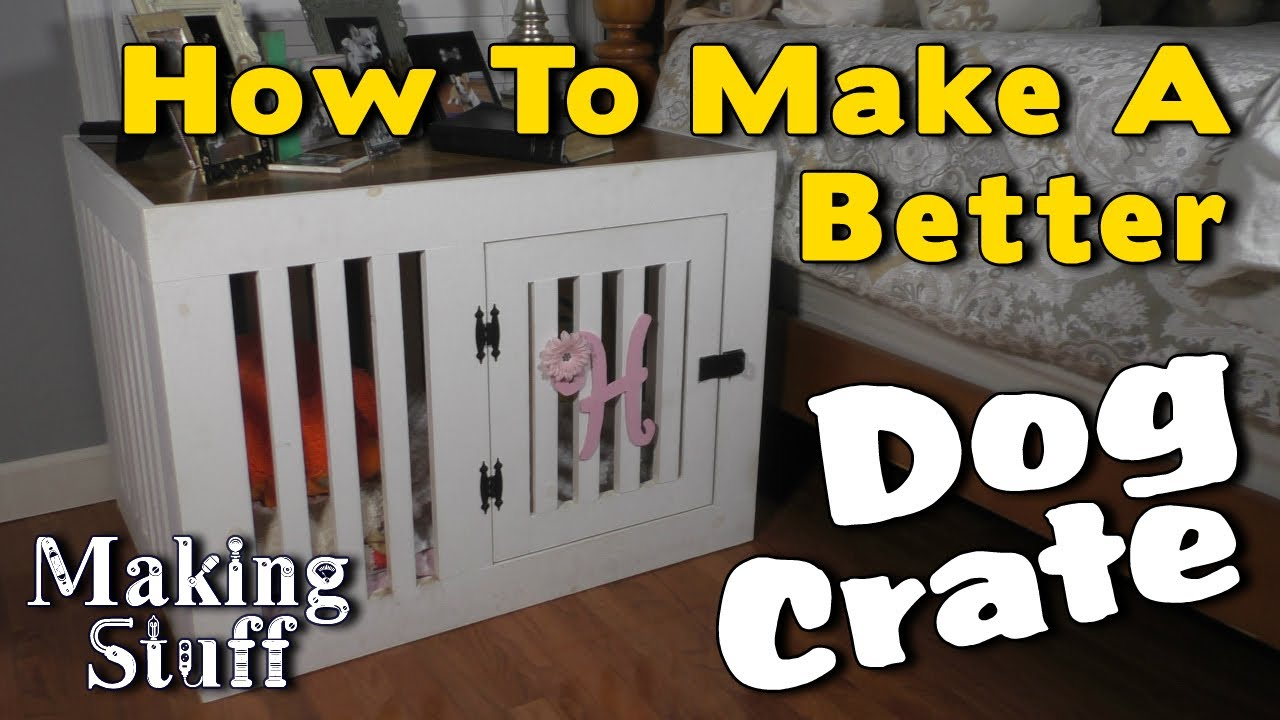 Making a Wooden Dog Crate