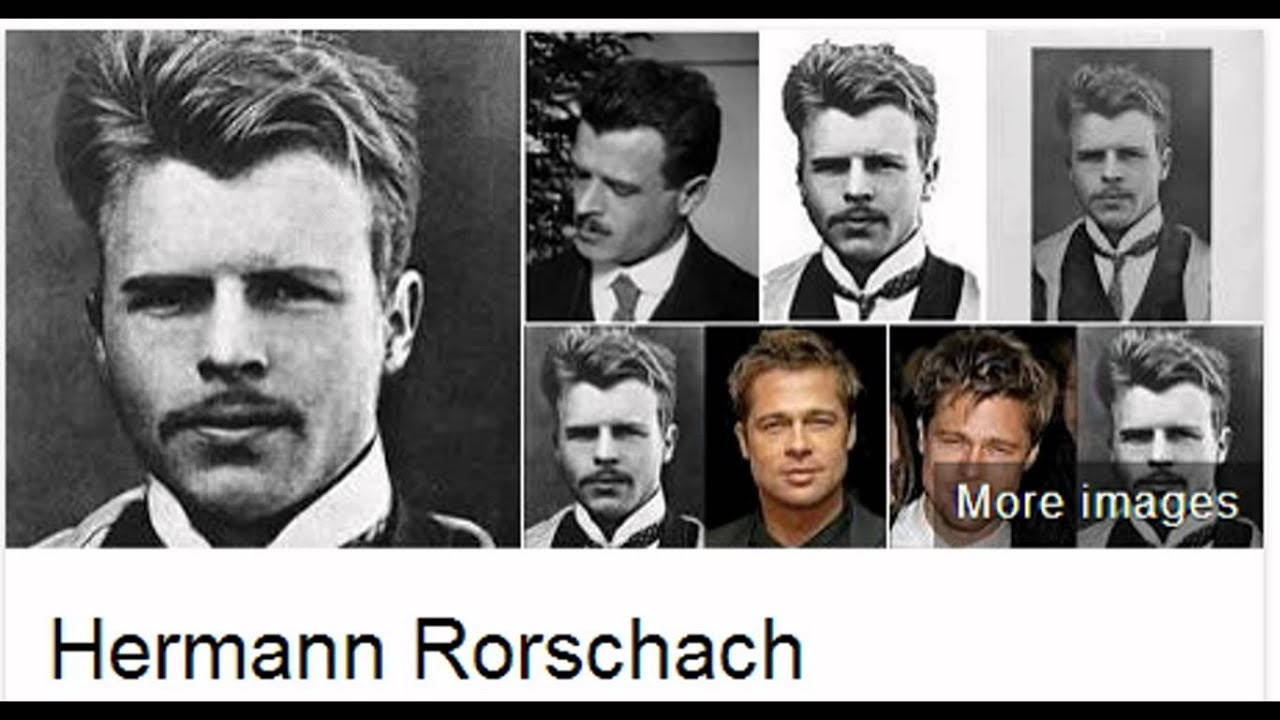an overview of a personality experiment of hermann rorscharch Rorschach test, also called rorschach inkblot test, projective method of psychological testing in which a person is asked to describe what he or she sees in 10 inkblots, of which some are black or gray and others have patches of colour the test was introduced in 1921 by swiss psychiatrist hermann.
