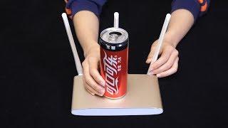 今天才知道,在路由器上摆个易拉罐,WiFi信号就可以增强3倍