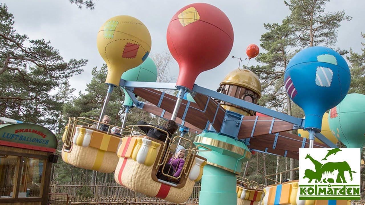 Bamses Värld Skalmans Luftballonger Kolmården Sweden Youtube