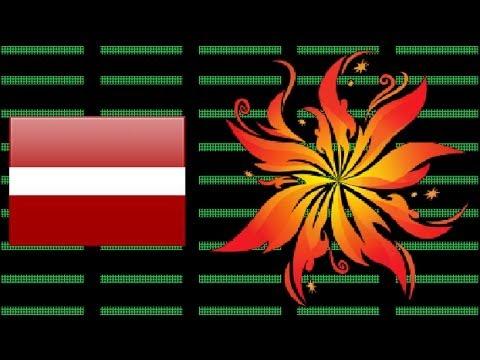 "LATVIA 2012 | Karaoke version | Anmary - ""Beautiful Song"""