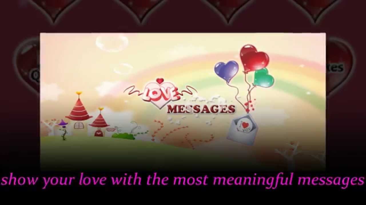 Love Message All Sms And Messages For Your Love V2 Youtube