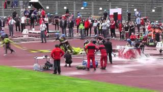 SDH Frýdek muži PÚ  1 pokus  krajské kolo Ostrava 2011