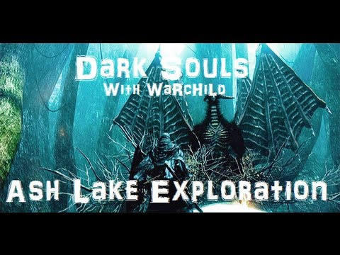 how to get to ash lake dark souls