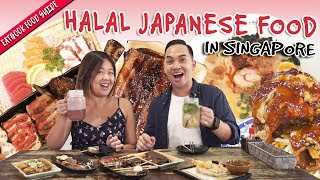 Halal Japanese Food In Singapore   Eatbook Food Guide   EP 28