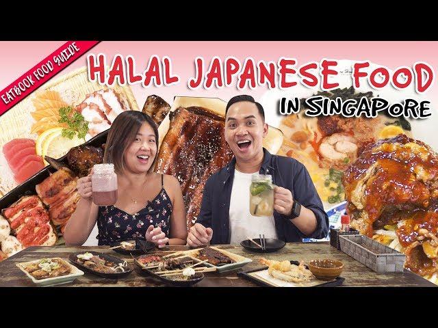 Halal Japanese Food In Singapore Eatbook Food Guide Ep 28 Youtube