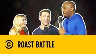 Simon Brodkin & Dane Baptiste with Harriet Kemsley | Post Roast | Roast Battle